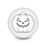 3D Spooky Pumpkin soap mold