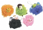 Animal NET TERRY SUPER SCRUBBIES Loofah W/ Brush Toy