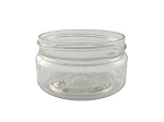 2 oz CLEAR low profile jar 58/400