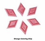 Orange Soap Chips - 5 chips