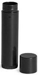.15 oz BLack Lip (chapstick) Tube w/ cap