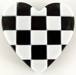 Checkered Heart Mold - Sheet Soap Mold heavy duty