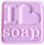I Heart Soap SHEET Soap Mold heavy duty