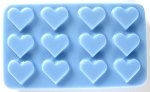 Heart Grid Mold SHEET Soap Mold heavy duty