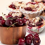 Cherry Crumb Cobbler Pie