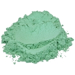Powdered Sparkle Light Spring Green Mica - 1 oz