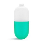 2 oz Tottle plastic HDPE - Natural - Case 848