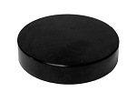 70/400 Black Smooth Straight Cap/lid