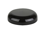 48/400 Black Domed Lid