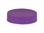 38/400 Purple Smooth Lid