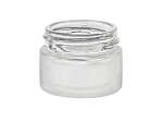 1/4 oz Lip Balm NATURAL Container jar 33/400