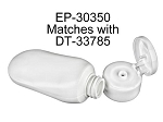 2 oz Tottle HDPE WHITE - (CASE 700)