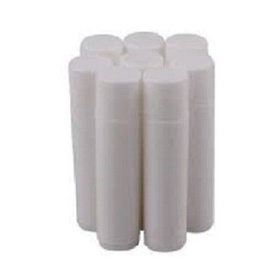 .15 OZ white CHAPSTICK LIP TUBES - w/ caps  - 500 QTY