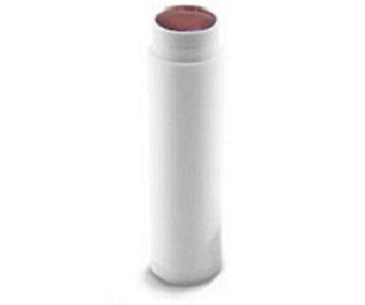.15 OZ CHAPSTICK LIP balm container- WHITE tubes & Caps - 100 sets - free shipp