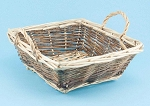 Square two tone basket