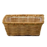 10 Inch Rectangle Bamboo Basket