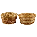 9 1/2 Inch x 4 1/2 Inch Round Dishgarden Basket With Liner