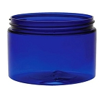 12 oz COBALT BLUE Plastic PET Jar (89/400)