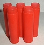.15 oz RED Lip (chapstick) Tube w/ cap