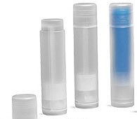 .15 Natural Chapstick Lip Tube w/natural cap -100 sets - FREE SHIPPING