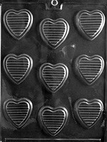 HEARTS WITH RIDGES V014