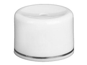 22/400 White/Silver Lid (1.25 in)