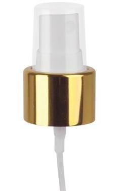 24/410 GOLD SHINY/WHITE SPRAYER top