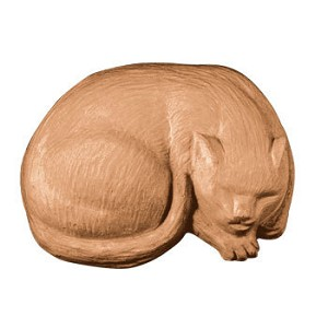 Cat Sleeping Soap Mold (MW 91)