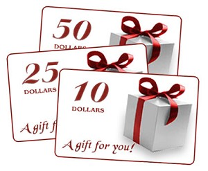 Gift Certificate 75.00