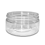 4 oz PET Clear Jars 70/400