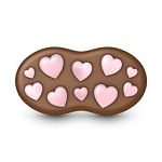 Lots of Love Cookie Pnut Mold