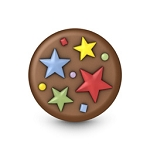Party Stars Mini Cookie Mold