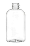 4 oz Boston Round Bottle PET 20/410