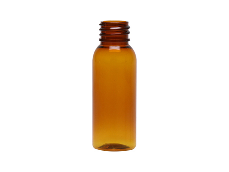 1 oz AMBER Cosmo Bullet PET bottle 20/410
