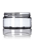 8 oz CLEAR Low profile PET Jar 89/400