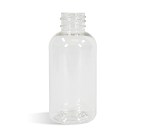 1 oz CLEAR Boston Round BOTTLE