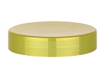 89/400 SHINY YELLOW GOLD METALLIZED cap/lid/top