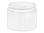 2 oz PP WHITE Double Wall Jar 58/400 - SQUARE bottom