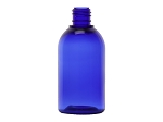 3.33 oz BLUE ROUND PET W/LID