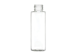 4 oz Clear cylinder PET bottle - 20/410