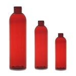 8 oz RED Bullet PET bottle 24/410