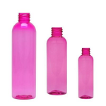 8 oz Pink Bullet PET bottle 24/410